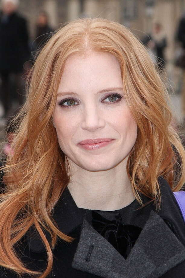 PARIS, FRANCE - MARCH 06: Actress Jessica Chastain arrives to attend the 'Louis Vuitton' Fall/Winter 2013 Ready-to-Wear show as part of Paris Fashion Week on March 6, 2013 in Paris, France. Photo: Marc Piasecki, WireImage / 2013 Marc Piasecki