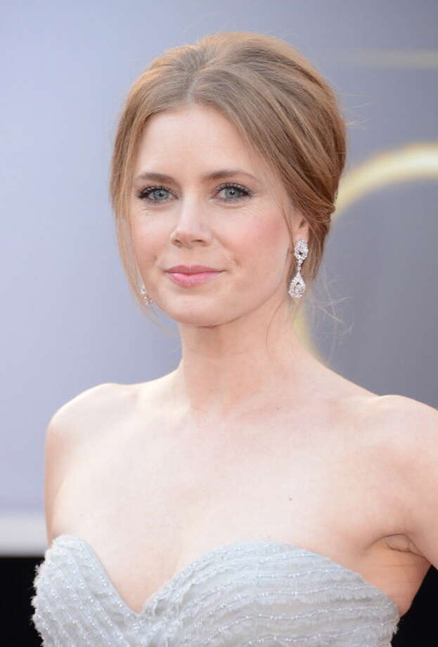 HOLLYWOOD, CA - FEBRUARY 24:  Actress Amy Adams arrives at the Oscars at Hollywood & Highland Center on February 24, 2013 in Hollywood, California. Photo: Jason Merritt, Getty Images / 2013 Getty Images