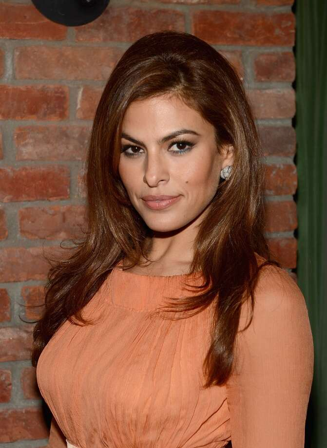"NEW YORK, NY - MARCH 28:  Eva Mendes attends the after party for ""The Place Beyond The Pines"" New York Premiere at The Bowery Hotel on March 28, 2013 in New York City.  (Photo by Jamie McCarthy/WireImage)"