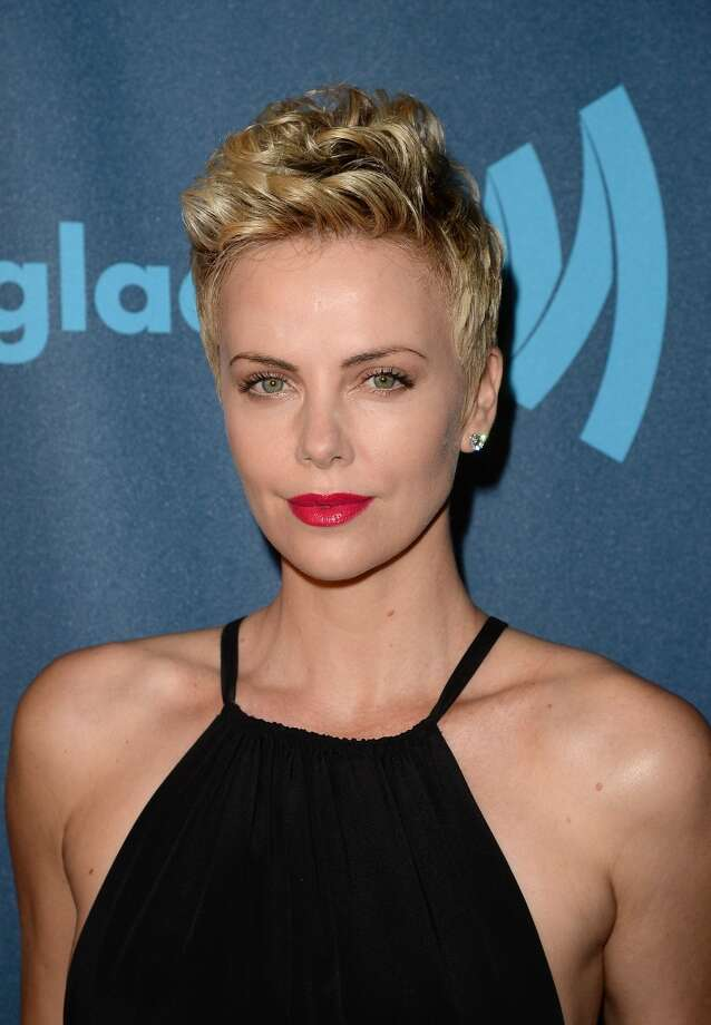 LOS ANGELES, CA - APRIL 20:  Actress Charlize Theron attends the  24th Annual GLAAD Media Awards  at JW Marriott Los Angeles at L.A. LIVE on April 20, 2013 in Los Angeles, California.  (Photo by Jason Merritt/Getty Images for GLAAD)