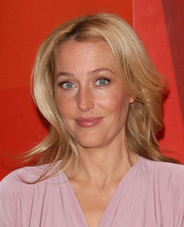 NEW YORK, NY - MAY 13:  Actress Gillian Anderson attends 2013 NBC Upfront Presentation Red Carpet Event at Radio City Music Hall on May 13, 2013 in New York City.  (Photo by Jim Spellman/WireImage)