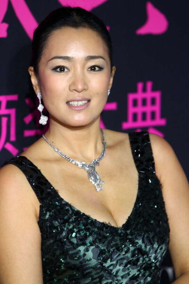 BEIJING, CHINA - OCTOBER 25:  (CHINA OUT) Actress Gong Li attends L'Officiel 2012 China Elegant Ceremony at National Aquatic Center on October 25, 2012 in Beijing, China. Photo: ChinaFotoPress, ChinaFotoPress Via Getty Images / 2012 ChinaFotoPress