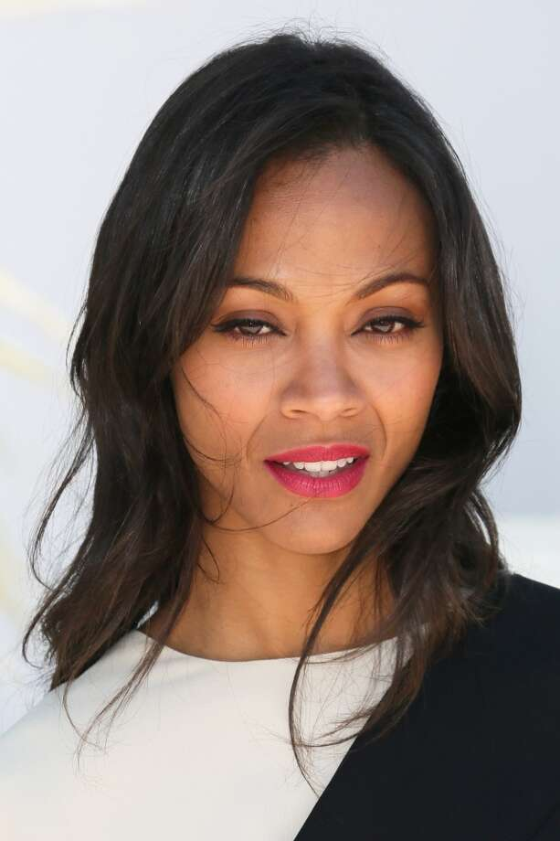 CANNES, FRANCE - MAY 20:  Zoe Saldana attends the photocall for 'Blood Ties' during the 66th Annual Cannes Film Festival at the Palais des Festivals on May 20, 2013 in Cannes, France.  (Photo by Tony Barson/FilmMagic) Photo: Tony Barson, FilmMagic
