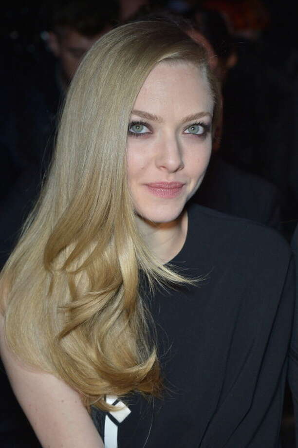 PARIS, FRANCE - MARCH 03: Amanda Seyfried attends the Givenchy Fall/Winter 2013 Ready-to-Wear show as part of Paris Fashion Week on March 3, 2013 in Paris, France.  (Photo by Dominique Charriau/WireImage) Photo: Dominique Charriau, WireImage