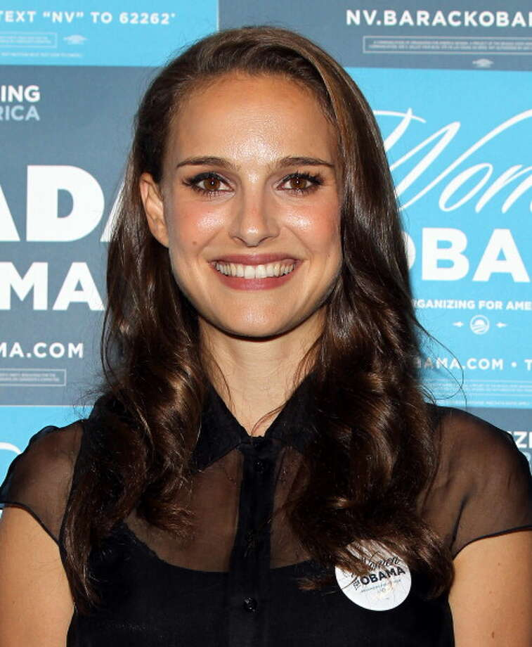 LAS VEGAS - AUGUST 25:  Natalie Portman attends the Nevada Women Vote 2012 Summit on August 25, 2012 in Las Vegas, Nevada. The event focused on rallying support for President Obama's re-election.  (Photo by Isaac Brekken/Getty Images) Photo: Isaac Brekken, Getty Images