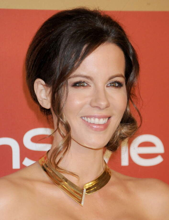 BEVERLY HILLS, CA - JANUARY 13:  Actress Kate Beckinsale arrives at the InStyle and Warner Bros. Golden Globe party at The Beverly Hilton Hotel on January 13, 2013 in Beverly Hills, California.  (Photo by Gregg DeGuire/WireImage) Photo: Gregg DeGuire, WireImage