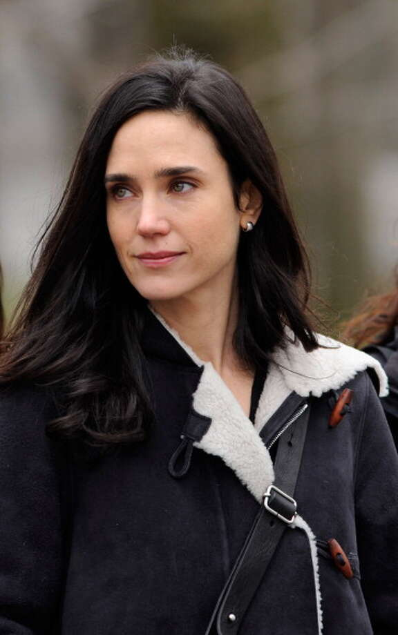 """NEW YORK, NY - JANUARY 15:  Jennifer Connelly filming on location for """"Winters Tale"""" on January 15, 2013 in New York City. Photo: Bobby Bank, WireImage / 2013 Bobby Bank"""