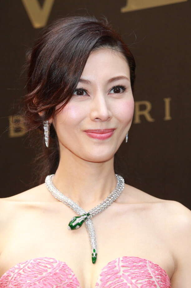HONG KONG - JANUARY 17:  (CHINA OUT) Actress Michelle Monique Reis attends Bulgari store opening ceremony on January 17, 2013 in Hong Kong, Hong Kong. Photo: ChinaFotoPress, ChinaFotoPress Via Getty Images / 2013 ChinaFotoPress