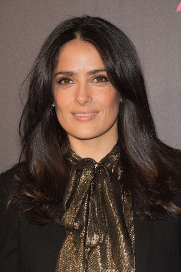 PARIS, FRANCE - APRIL 08:  Salma Hayek attends the 'Le Monde Enchante De Jacques Demy' Exhibition Opening at la cinematheque on April 8, 2013 in Paris, France.  (Photo by Dominique Charriau/WireImage) Photo: Dominique Charriau, WireImage