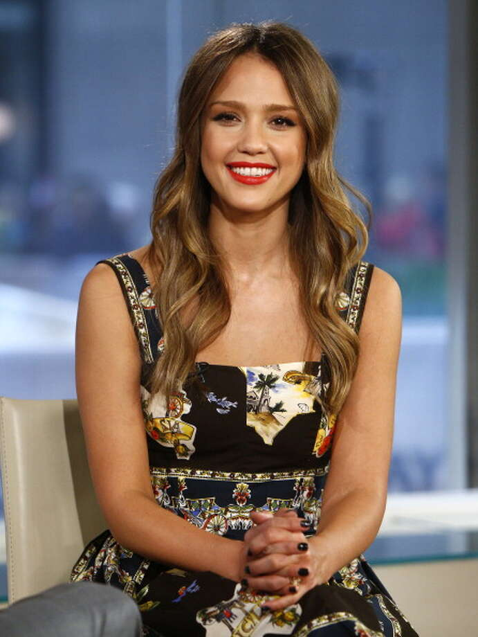"TODAY -- Pictured: Jessica Alba appears on NBC News' ""Today"" show -- (Photo by: Peter Kramer/NBC/NBC NewsWire via Getty Images) Photo: NBC NewsWire, NBCU Photo Bank Via Getty Images"
