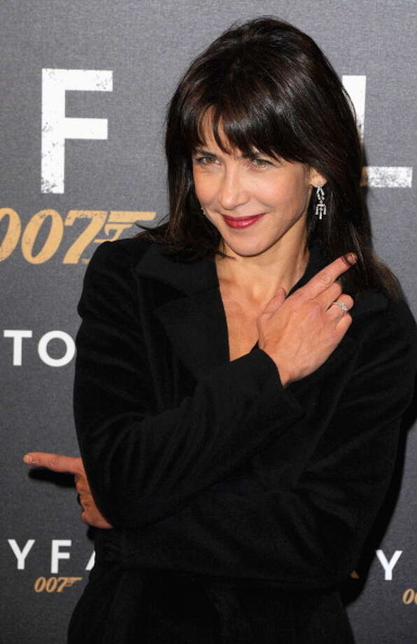 "PARIS, FRANCE - OCTOBER 24: Sophie Marceau attends the premiere of the latest James Bond ""Skyfall"" at Cinema UGC Normandie on October 24, 2012 in Paris, France.  (Photo by Pascal Le Segretain/Getty Images) Photo: Pascal Le Segretain, Getty Images"