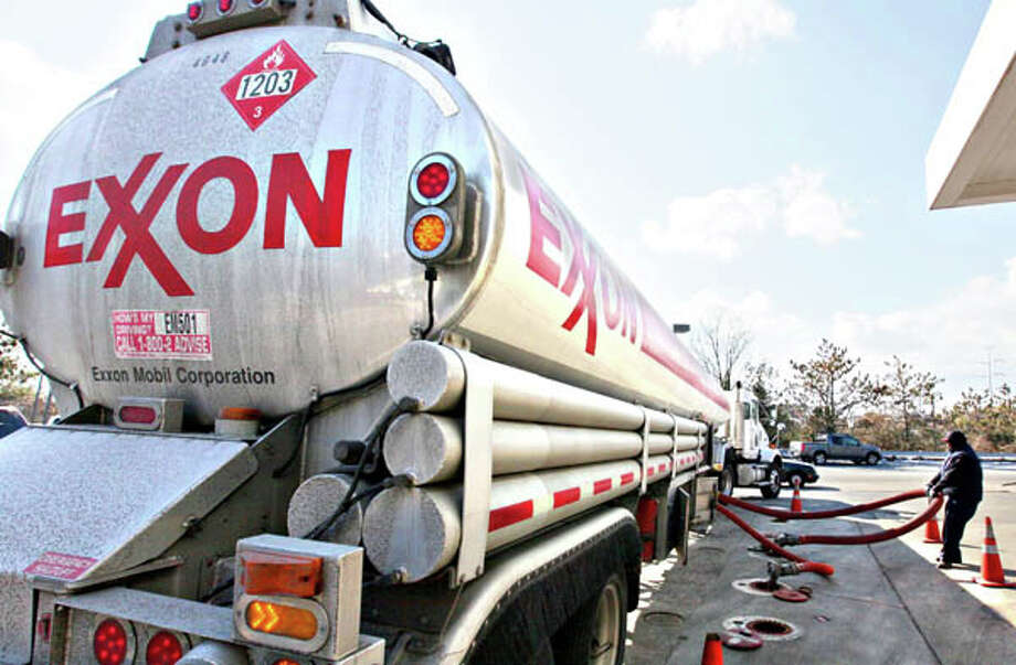 Total score: -25  Prohibits descrimination based on sexual orientation: 0  Prohibits discrimination based on gender identity or expression: 0  Offers partner health/medical insurance: 0  Positively engages the external LGBT community: 0  A large-scale official or public anti-LGBT blemish on record: -25  (photo: An Exxon tanker truck makes a refueling stop at an Exxon station in Arlington, Va.) Photo: J. Scott Applewhite, AP / AP