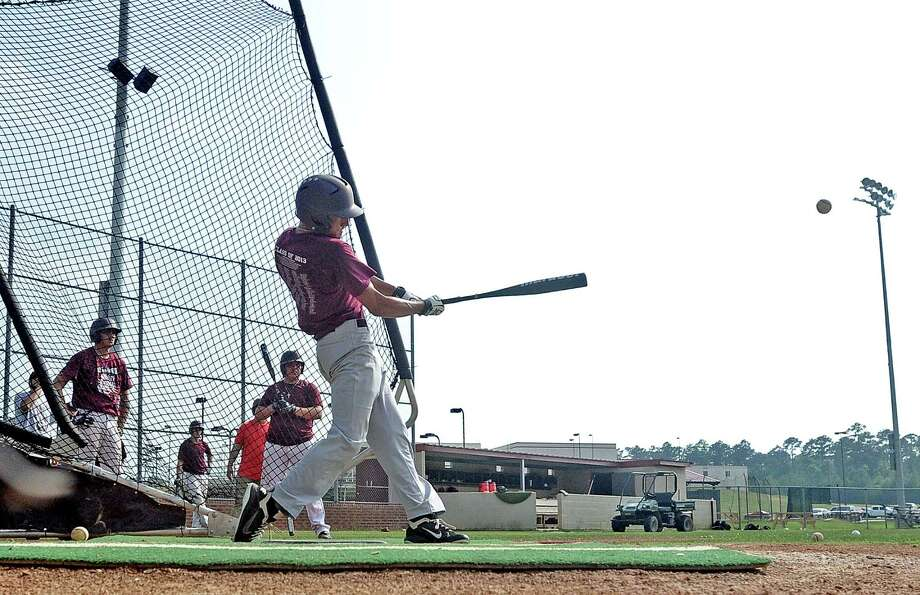 Silsbee baseball players take batting practice during practice on Wednesday, May 22, 2013.  Photo taken: Randy Edwards/The Enterprise Photo: Randy Edwards
