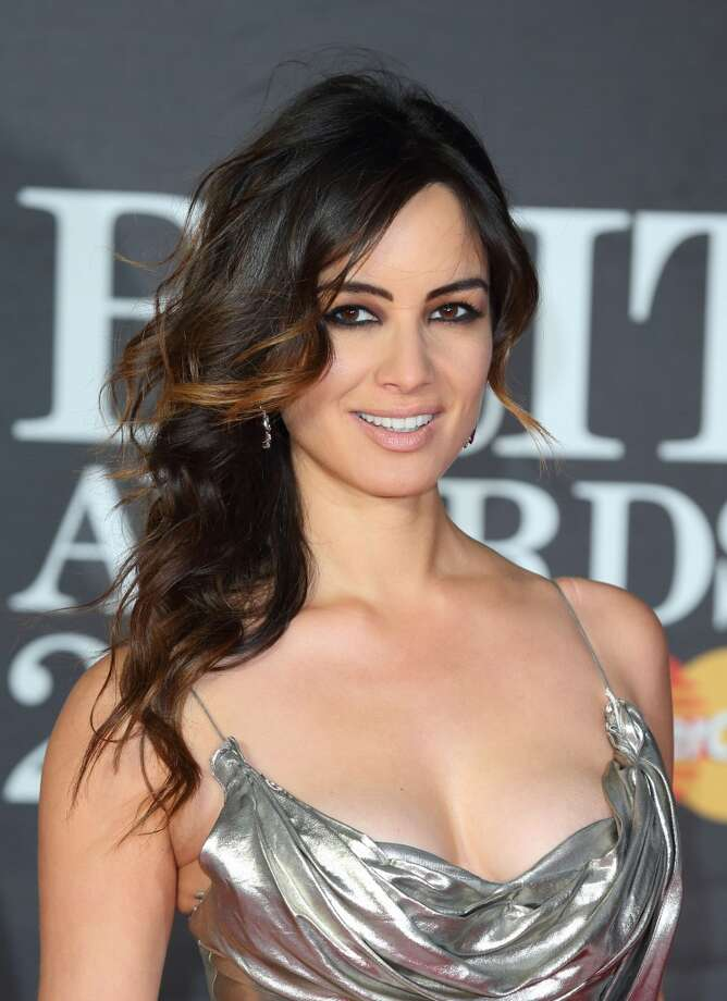 LONDON, ENGLAND - FEBRUARY 20:  Berenice Marlohe attends the Brit Awards at 02 Arena on February 20, 2013 in London, England.  (Photo by Mike Marsland/WireImage)