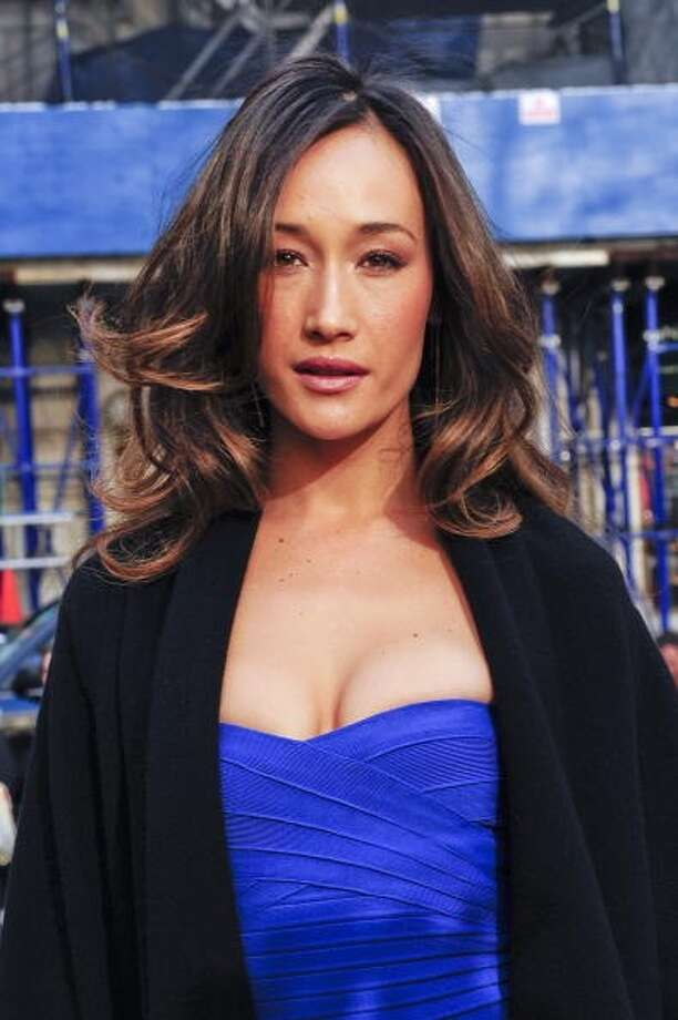 NEW YORK - FEBRUARY 14:  Actress Maggie Q walks in Bryant Park on February 14, 2010 in New York City. Photo: Ray Tamarra, Getty Images / 2010 Ray Tamarra