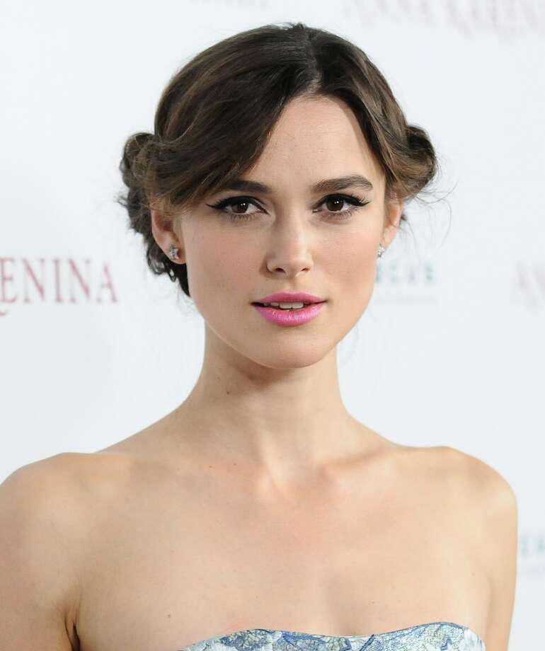 "HOLLYWOOD, CA - NOVEMBER 14:  Actress Keira Knightley attends the premiere of ""Anna Karenina"" at ArcLight Hollywood on November 14, 2012 in Hollywood, California.  (Photo by Jason LaVeris/FilmMagic)"