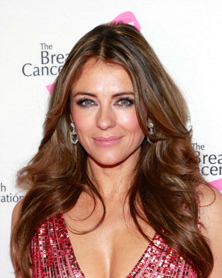 NEW YORK, NY - APRIL 17:  Actress Elizabeth Hurley attends The Breast Cancer Research Foundation's 2013 Hot Pink Party at The Waldorf=Astoria on April 17, 2013 in New York City. Photo: Charles Eshelman, FilmMagic / 2013 Charles Eshelman