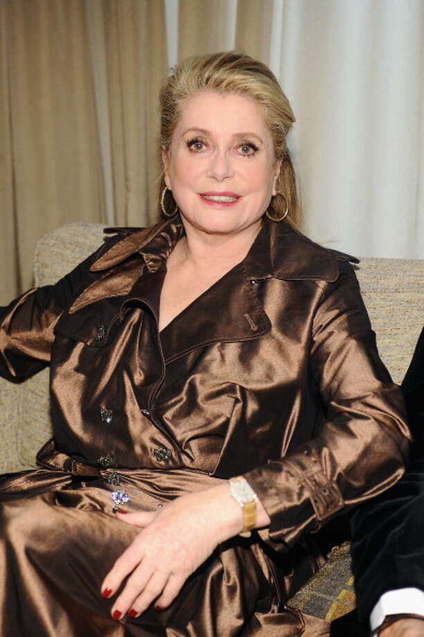 NEW YORK, NY - APRIL 22:  Catherine Deneuve attends the Grey Goose cocktail reception of The Film Society of Lincoln Center's 40th Chaplin Award Gala at Avery Fisher Hall, Lincoln Center on April 22, 2013 in New York City. Photo: Stefanie Keenan / 2013 Getty Images