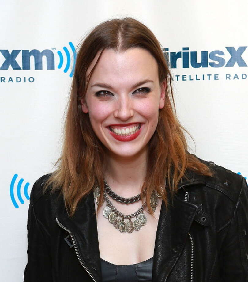 NEW YORK, NY - APRIL 30:  Lzzy Hale of Halestorm visits at SiriusXM Studios on April 30, 2013 in New York City. Photo: Robin Marchant, Getty Images / 2013 Robin Marchant