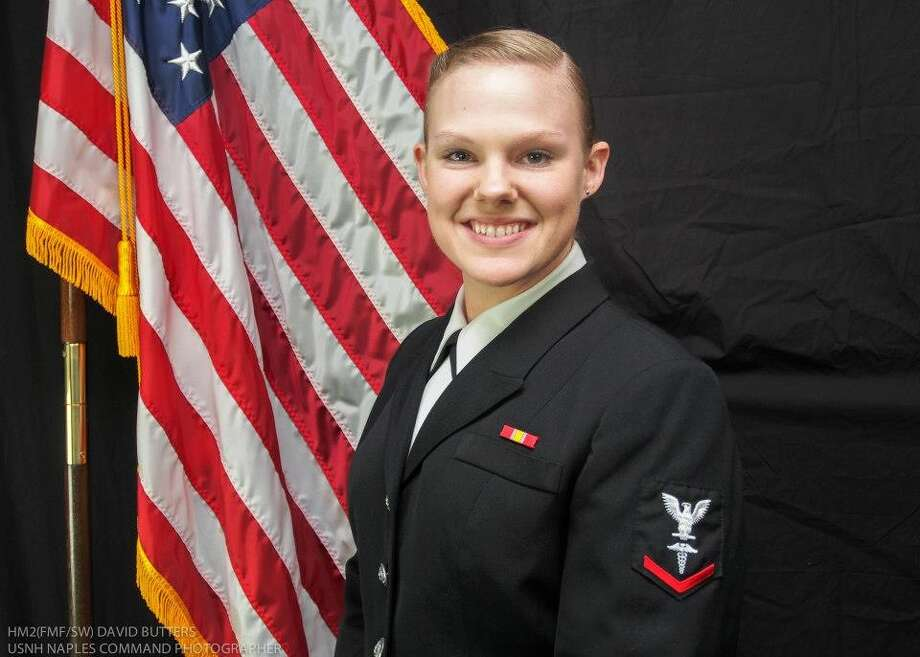 This is Petty Officer 3rd Class of the USN. July will be 3 years of Service. HM3 Williams. We love and Miss our Daughter. Silsbee. Photo: Handout