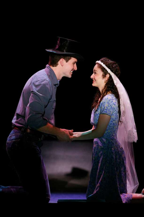 "Addison Reid Coe and Mary Joanna Grisso star as the lovers Tony and Maria in ""West Side Story,"" which will be presented at the Shubert Theatre in New Haven Friday, May 31, through Sunday, June 2. Photo: Contributed Photo / Connecticut Post Contributed"