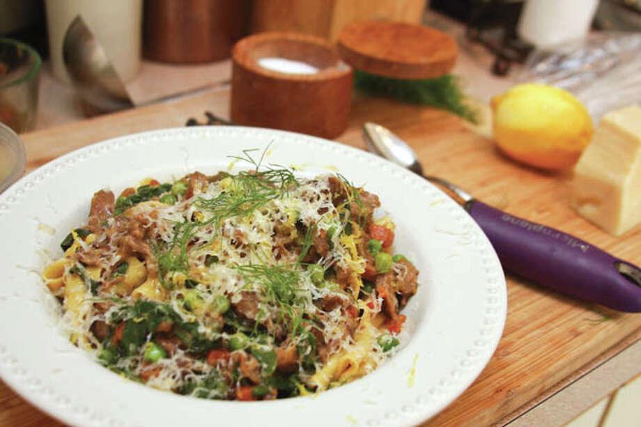 Rory Moran of Comfort Kitchen makes Spring Lamb Ragu