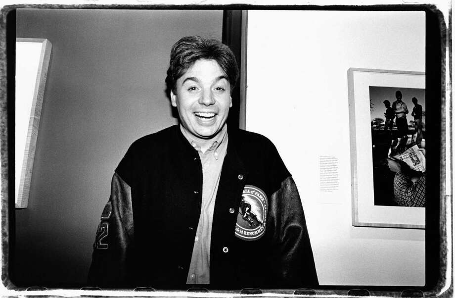 Mike Myers poses for a photo at an unidentified event in November 1993 in New York City. Photo: Catherine McGann, Getty Images / 2010  Catherine McGann