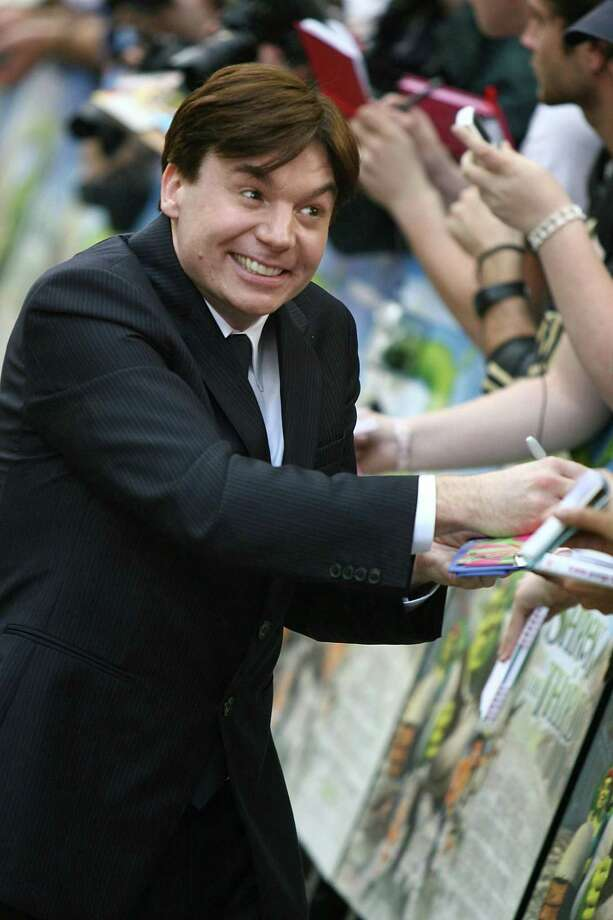 "Mike Myers, pictured at the United Kingdom premiere of ""Shrek The Third,"" at Odeon Leicester Square, London. Photo taken on June 11, 2007. Photo: Photoshot, Getty Images / 2012 Photoshot"
