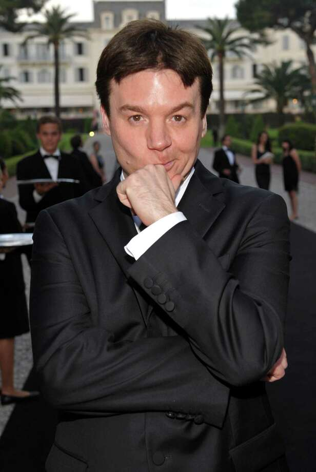 Mike Myers attends a charity cocktail party during the 62nd Annual Cannes Film Festival on May 21, 2009 in Antibes, France. Photo: John Shearer, Getty Images / 2009 Getty Images