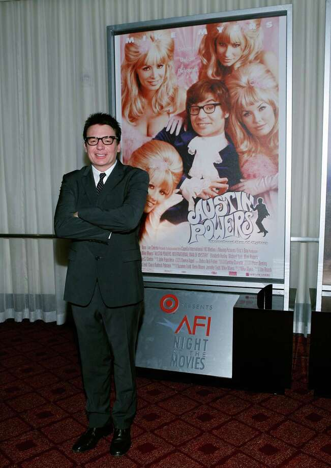 Mike Myers is pictured at ArcLight Cinemas on Oct. 1, 2008 in Hollywood, Calif. Photo: Vince Bucci, Getty Images / 2008 Getty Images