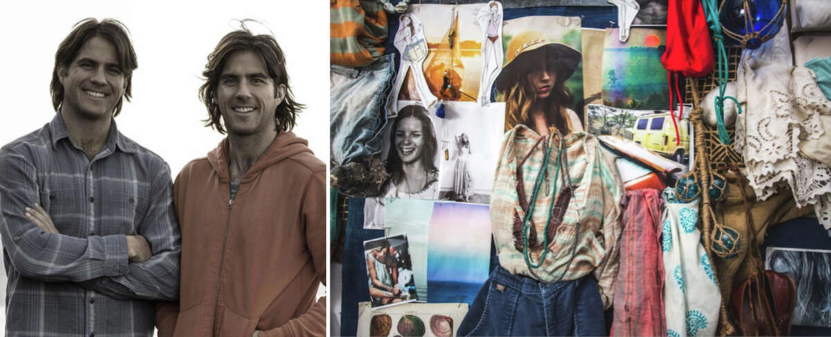 Mike and Alex Faherty, owners of Faherty Brand in New York City, will be among the vendors at Pop Shop Market in Fairfield on Saturday, June 1.