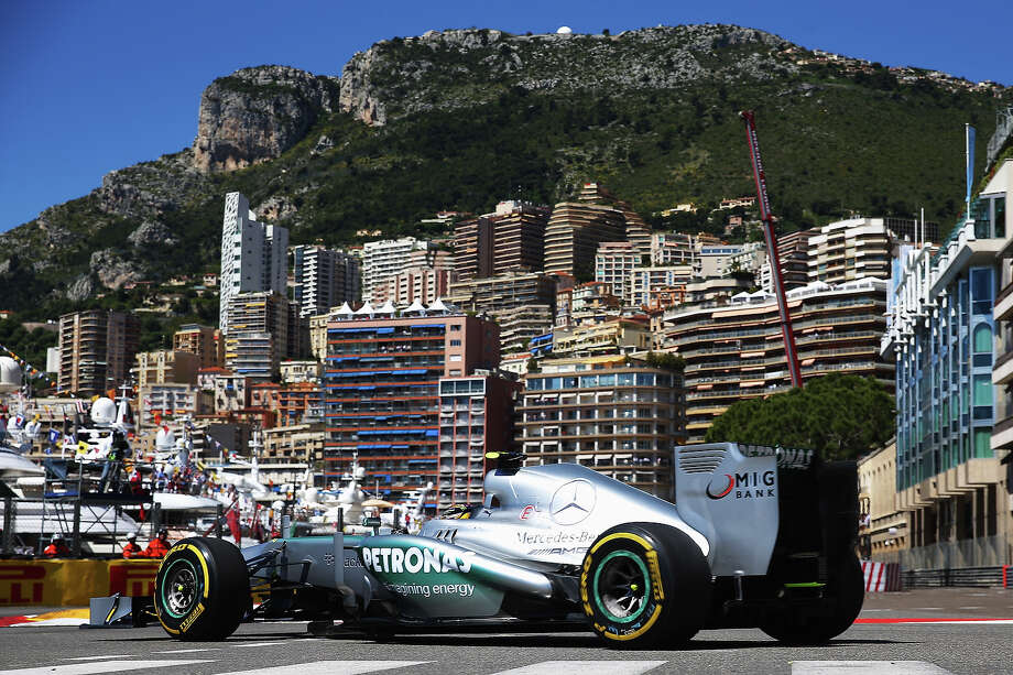 Lewis Hamilton of Great Britain and Mercedes GP drives during practice for the Monaco Formula One Grand Prix at the Circuit de Monaco on May 23, 2013 in Monte-Carlo, Monaco. Photo: Bryn Lennon, Getty Images / 2013 Getty Images