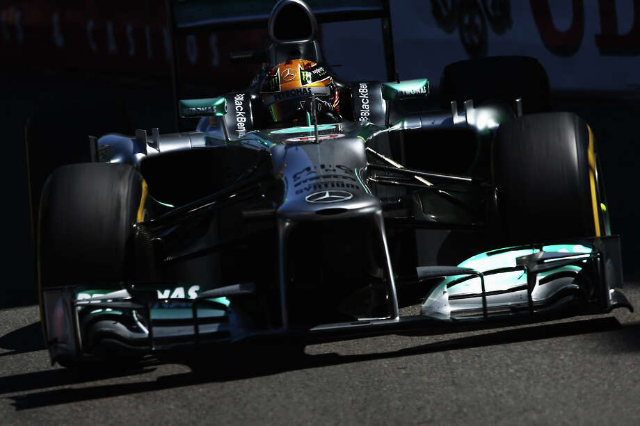 Lewis Hamilton of Great Britain and Mercedes GP drives during practice for the Monaco Formula One Grand Prix at the Circuit de Monaco on May 23, 2013 in Monte-Carlo, Monaco. Photo: Mark Thompson, Getty Images / 2013 Getty Images