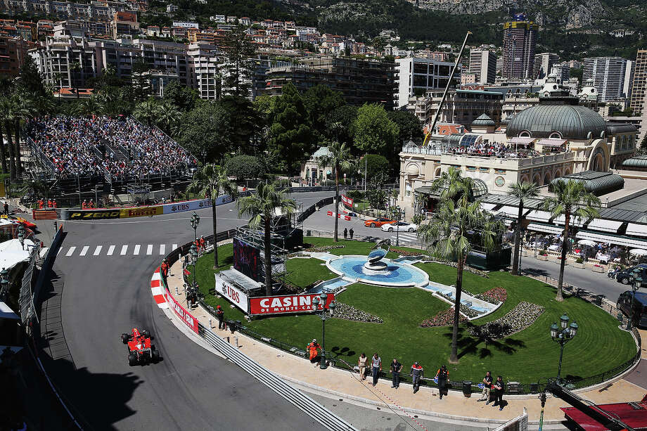 Fernando Alonso of Spain and Ferrari drives during practice for the Monaco Formula One Grand Prix at the Circuit de Monaco on May 23, 2013 in Monte-Carlo, Monaco. Photo: Mark Thompson, Getty Images / 2013 Getty Images