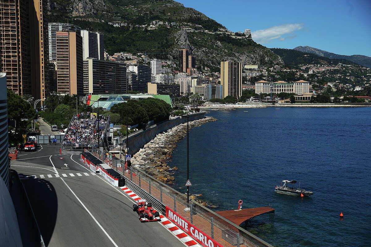 Felipe Massa of Brazil and Ferrari drives during practice for the Monaco Formula One Grand Prix at the Circuit de Monaco on May 23, 2013 in Monte-Carlo, Monaco.