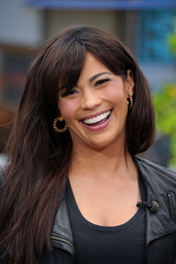 """LOS ANGELES, CA - APRIL 10:  Paula Patton visits """"Extra"""" at The Grove on April 10, 2013 in Los Angeles, California. Photo: Noel Vasquez, Getty Images For Extra / 2013 Noel Vasquez"""