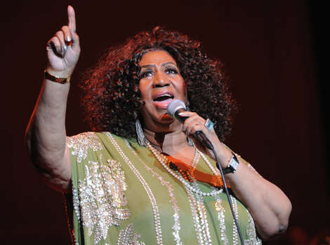 April 2015Aretha Franklin: The legendary soul singer has rescheduled her Houston performance for sometime in April 2015. For more information, or to request a replacement ticket, visit arenahouston.com.  Photo: Rick Diamond, Getty Images For The Fox Theatre / 2012 Getty Images