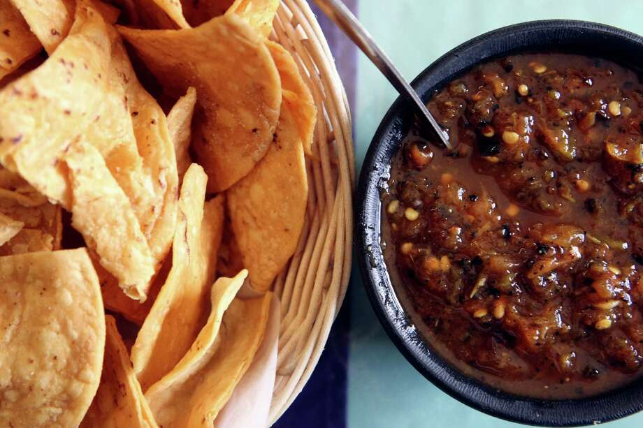 When you get right down to it, a serving of chips and salsa has got to be the forerunner in our search for a state appetizer. They even hand this stuff out before communion at some churches here in Texas. Photo: HELEN L. MONTOYA, SAN ANTONIO EXPRESS-NEWS / hmontoya@express-news.net