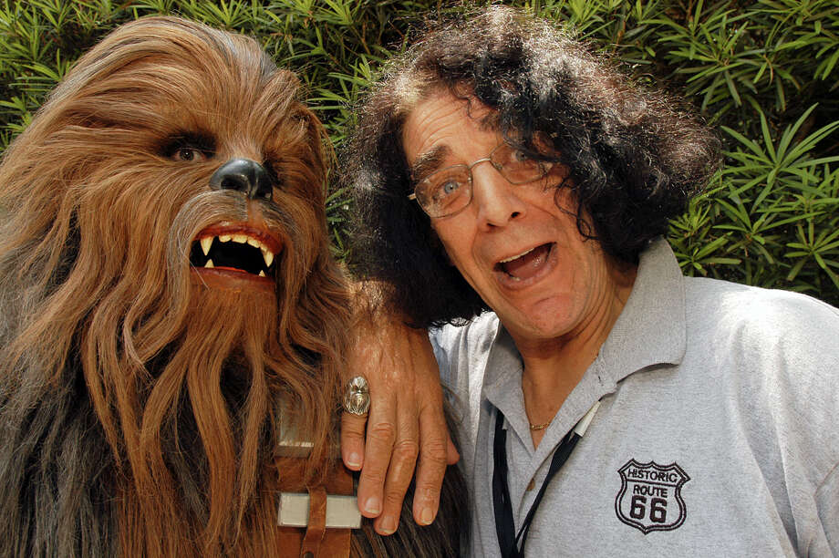 Peter Mayhew played Han Solo's Wookiee sidekick, Chewbacca, in the original Star Wars films. Photo: MARK ASHMAN, HO / WALT DISNEY WORLD