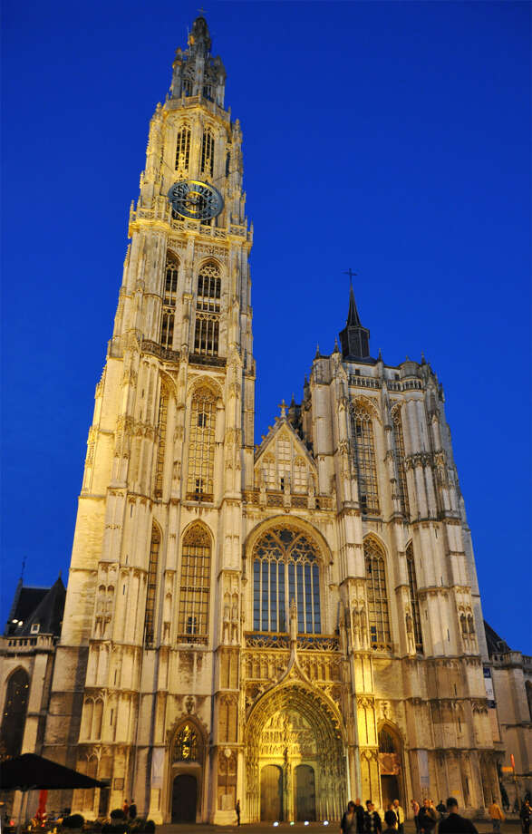 Antwerp's Cathedral of Our Lady has the tallest church steeple in the Low Countries. Photo: Cameron Hewitt, Ricksteves.com