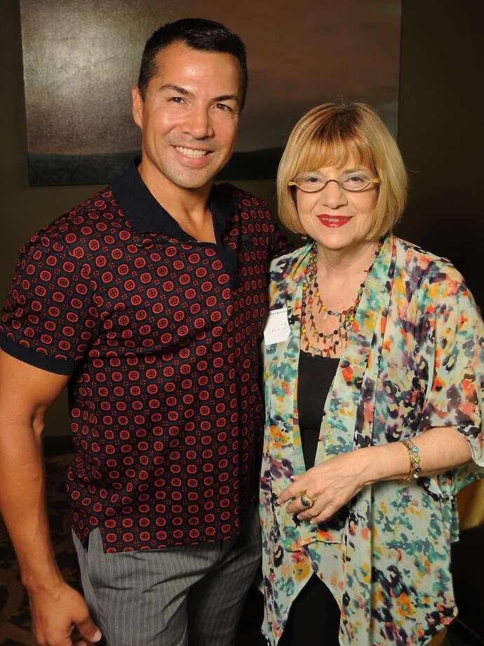 Randall Gonzales, left, and Ellen Levin