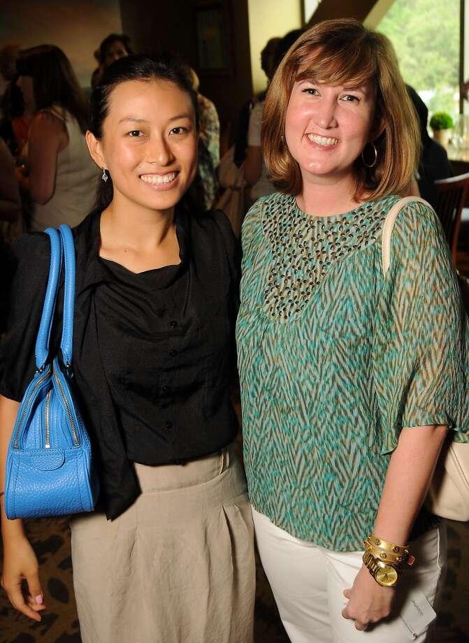 Shell Zhang, left,  and Liz Schaftner