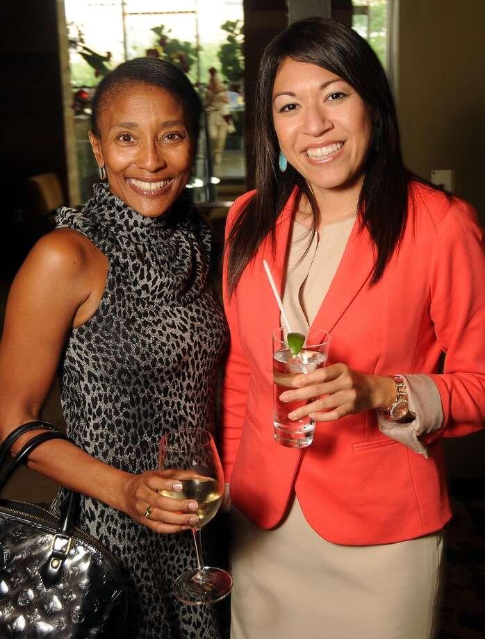 Jackie Fair, left,  and Monica Longoria