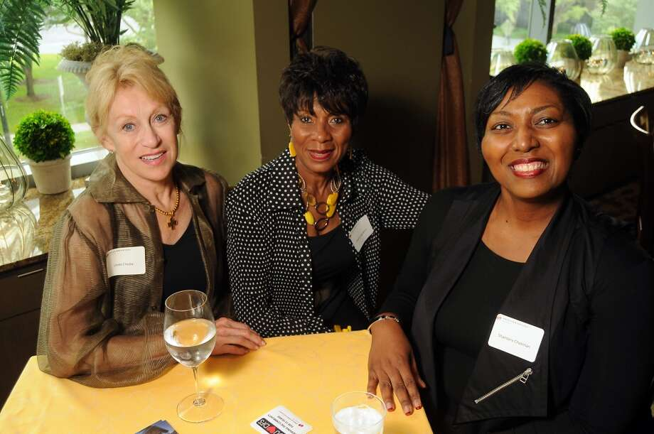From left: Linda Crosby, Gloria Legington and Shantera Chatman