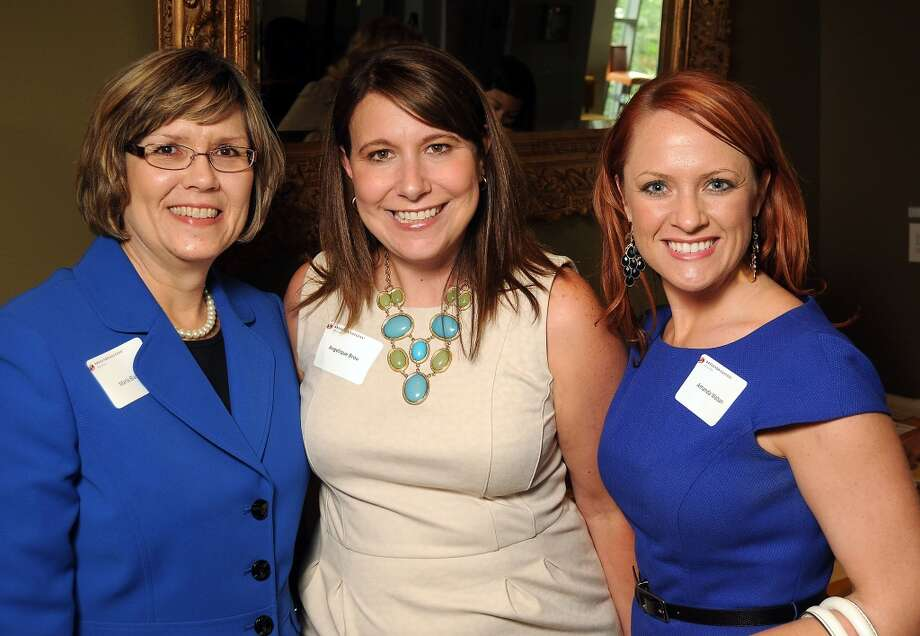 From left: Marla Blase, Angelique Brou and Amanda Watson