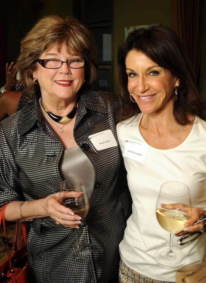 Margie Speier, left,  and Lauren Grossbard