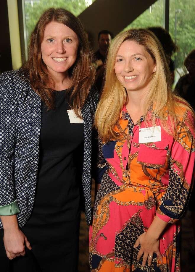 Susan Oehl, left,  and Lori Hendricks