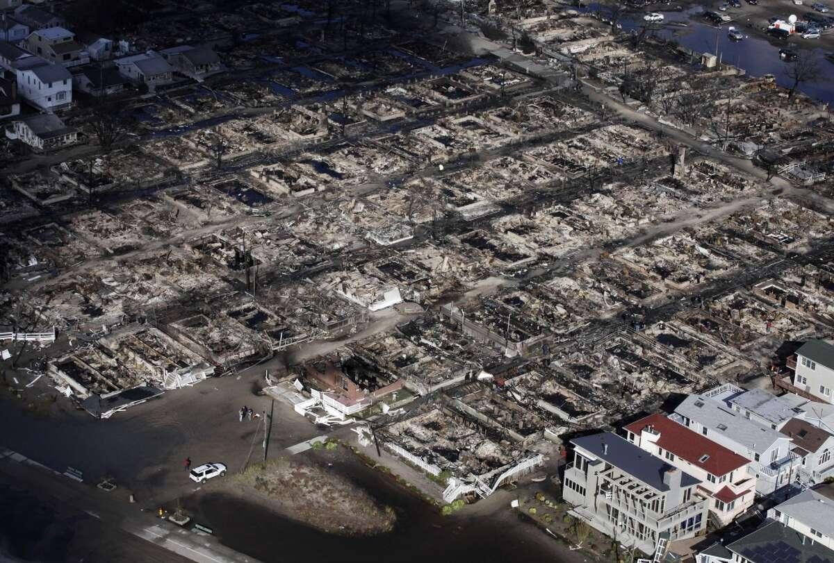 Hurricane Sandy hit the Northeast on 2012.