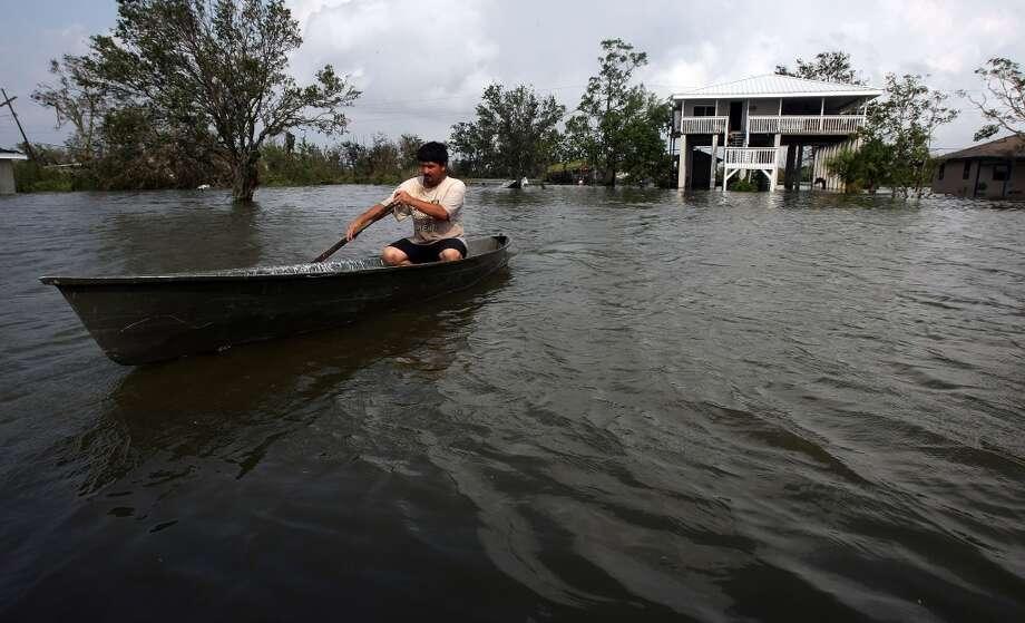 Hurricane Gustav hit the Southeast U.S. in 2008. Photo: Mario Tama, Getty Images