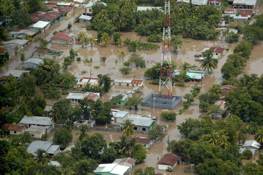 Hurricane Felix hit in 2007. Photo: ELMER MARTINEZ, AFP/Getty Images